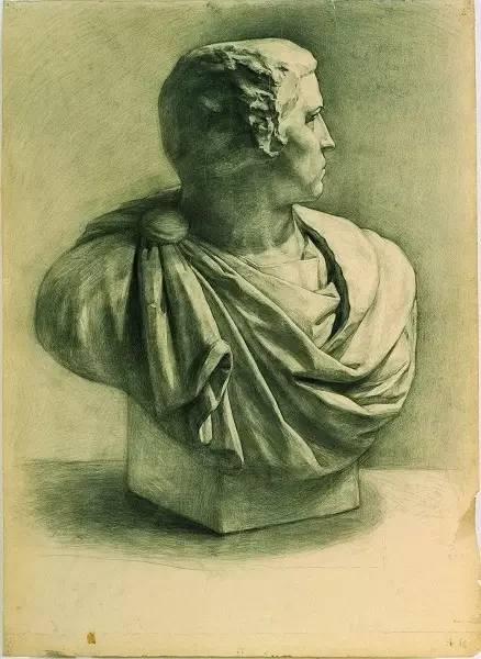 央美史上最经典的静物石膏素描