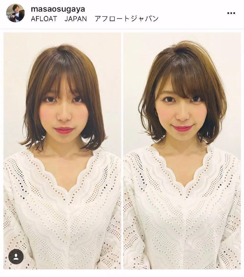 波波头短发发型图片 女生短发发型图片帅气图片
