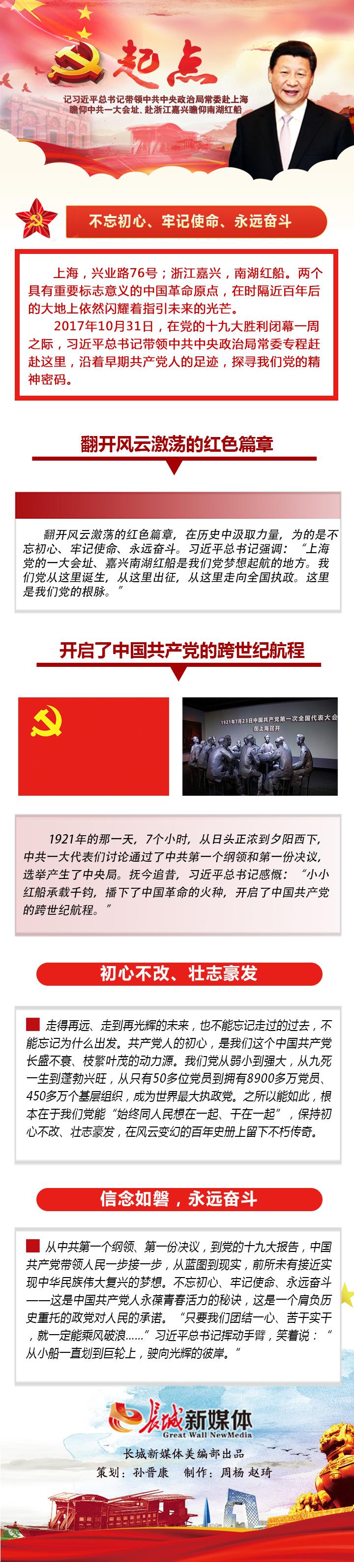 【纪念中国共产党第一次全国代表大会97周年图解】起点――不忘来时路