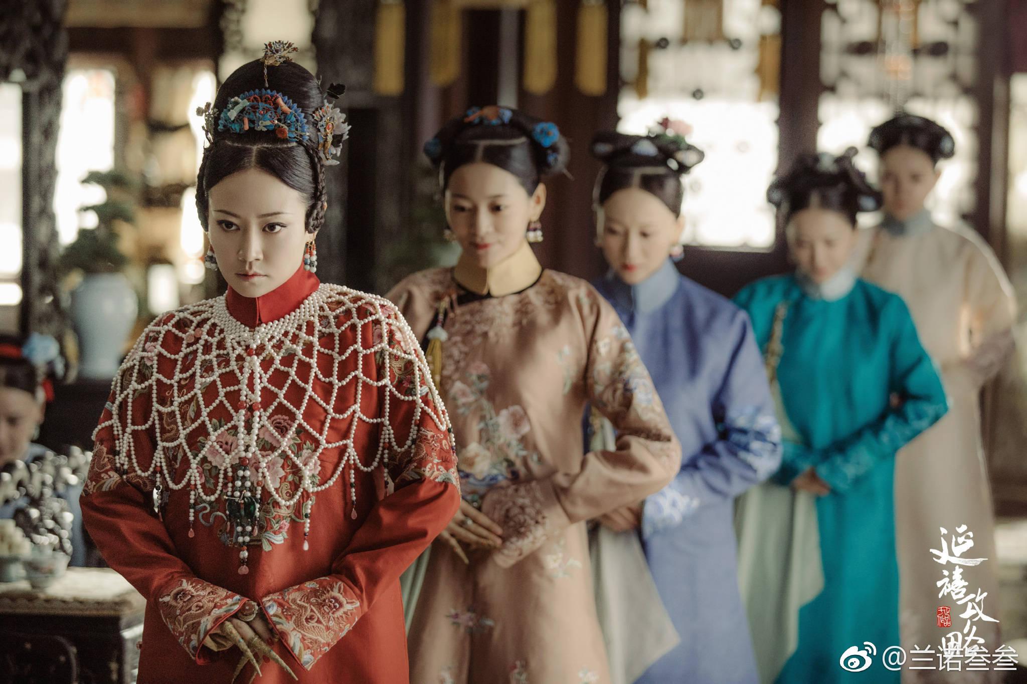 《延禧攻略》高贵妃穿的珍珠披肩火了,网友:这不猪八戒同款吗?