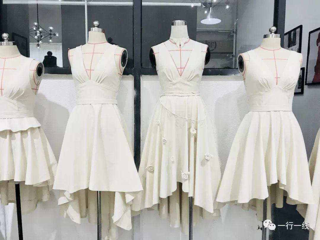 一行一线服装立体裁剪班,由原创独立设计师刘琴老师和dylan xu老师图片