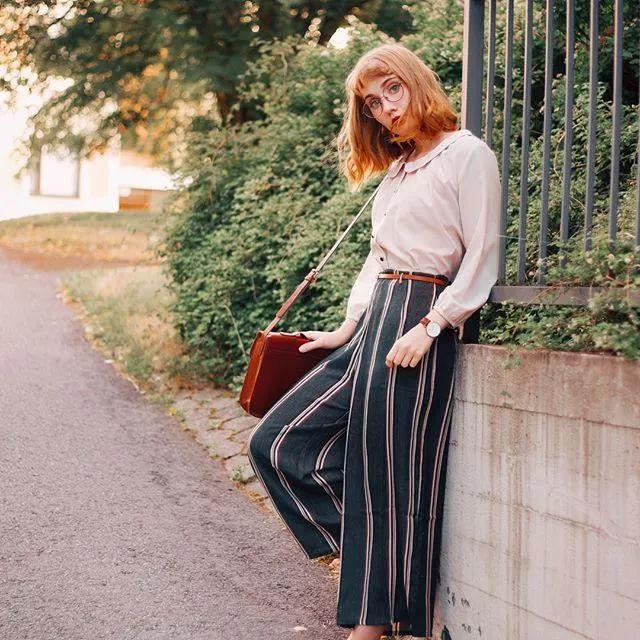 这位芬兰的时尚小仙女告诉你,小肉腿这么穿才好看!