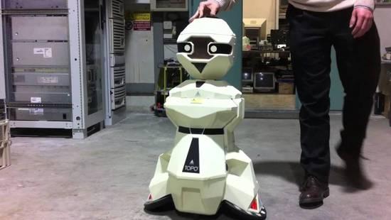 传华为正在打造家用机器人:帮中国孩子学英语