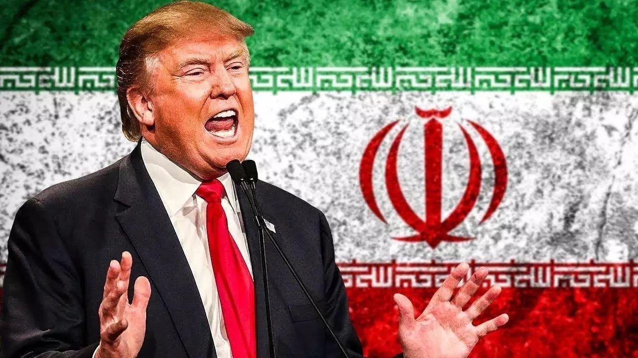 特朗普发表讲话就伊朗