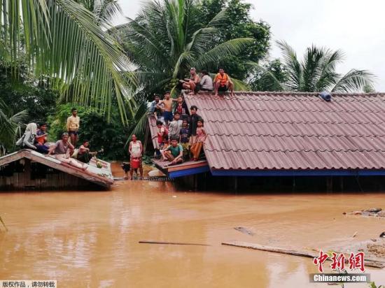 韩总统指示向老挝大坝坍塌事故现场派救援队
