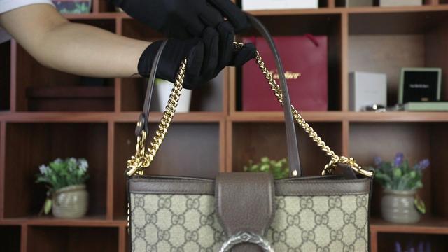 这款Gucci包真的是真的?虎头扣设计随意,就连五