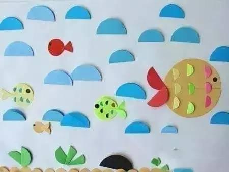 幼儿园卡纸手工制作