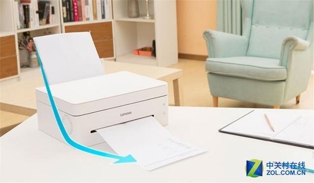 打印从此不同 体验联想全新小新一体机