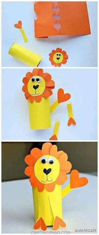 教你用纸筒做一个动物园