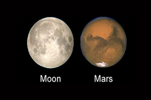 """15年一遇的""""火星冲日""""来了!还附赠月全食!"""
