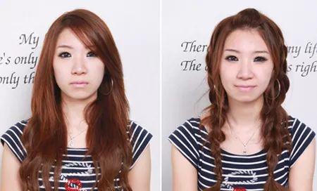 简单韩式编发,麻花辫新扎法,助你成功减龄