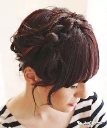 适合齐刘海的森女系编发盘发,打造出可爱森女风格!