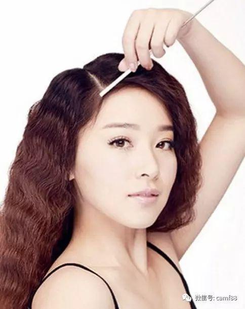 简单好看的韩式斜刘海编发,女神气质立马有了!