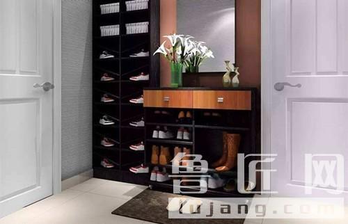 阳台鞋柜的缺点,怎样正确摆放鞋柜和鞋子,室内装修效果图大全,家庭图片