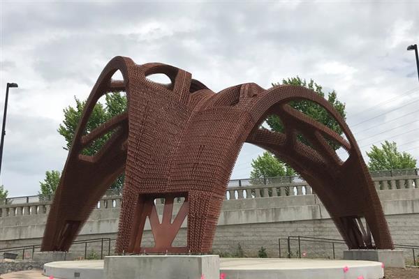 世界最大凉亭式3D打印建筑完工,可抗13级台风!
