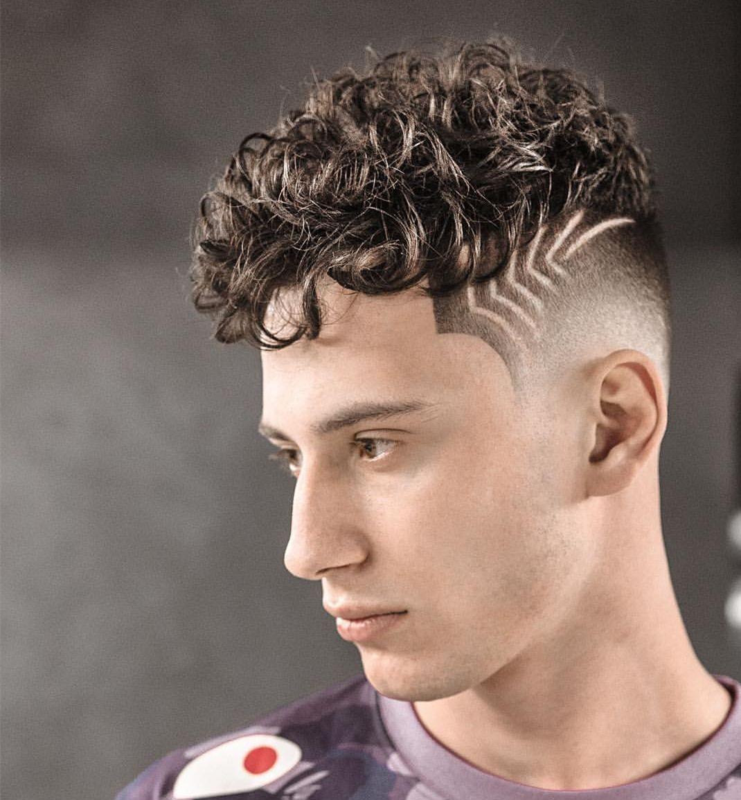 男士发型男士发型头型图片卷羊毛女生图片