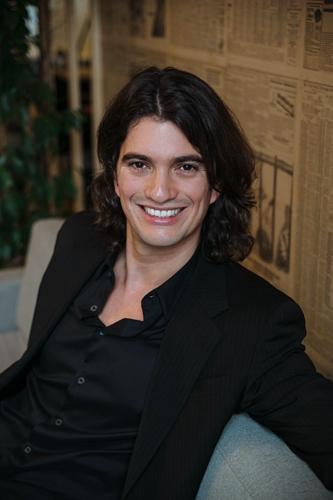 WeWork创始人及首席执行官Adam Neumann