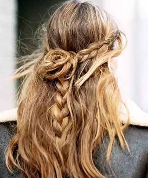 长发及腰有多美?15款编发发型告诉你