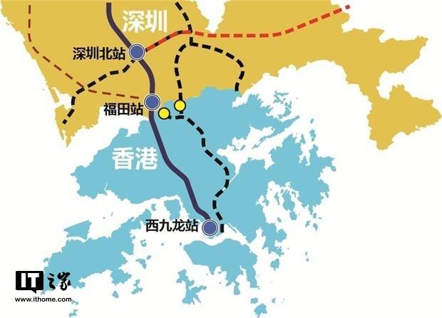 广深港高铁香港段预计九月通车