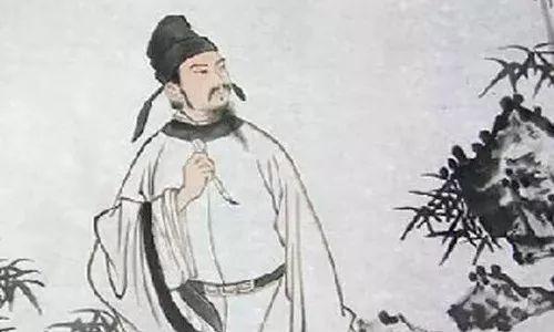 古代诗人苏轼手绘