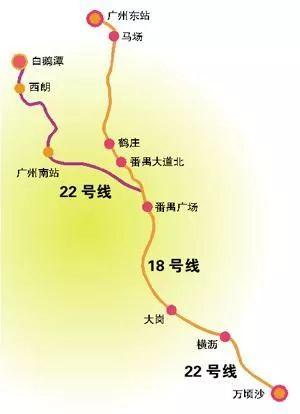 广州地铁最新进度!广佛线,十四号线.还有这6条线将图片