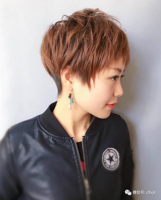 """2018流行短发""""定位烫""""图片"""