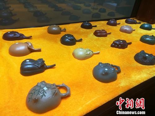 倪顺生制作的其他紫砂作品。上官云 摄