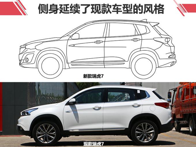 观致SUV变身奇瑞新款瑞虎7 最快今年底开卖-图3