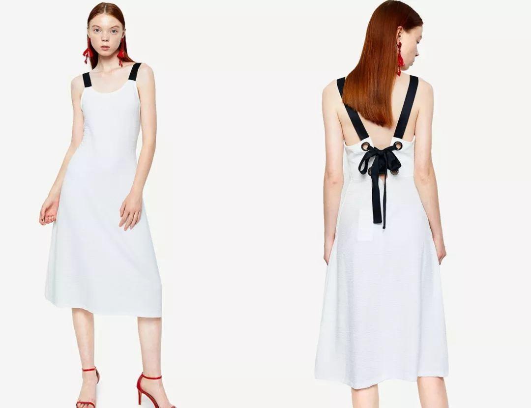 zara罗纹针织连衣裙 折后价 59.00