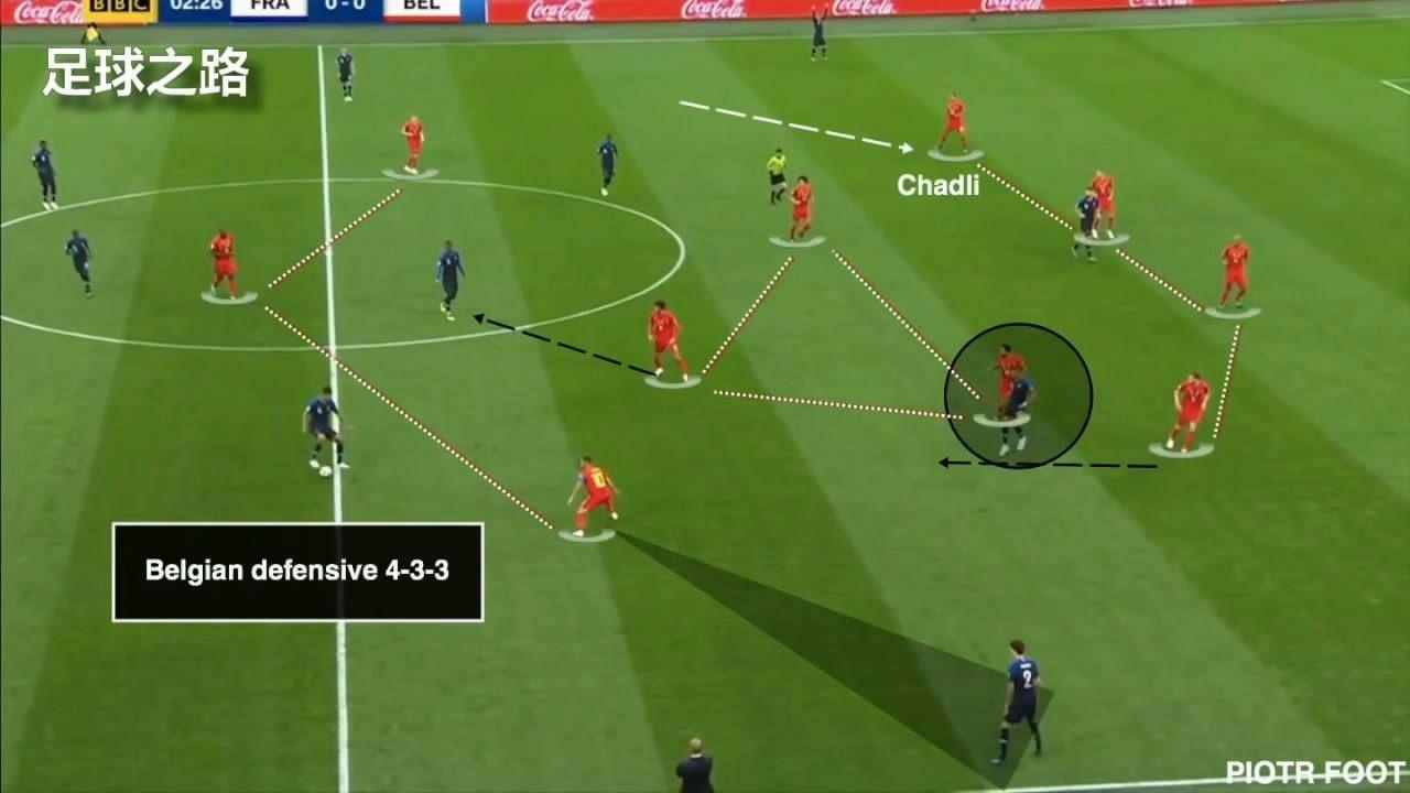 球场即战场:世界杯法国队的4231阵型,竟来自陆军步兵战术!