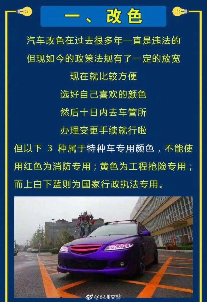 乌鲁木齐交警教你举报改装车!深圳交警教你改装不违法!
