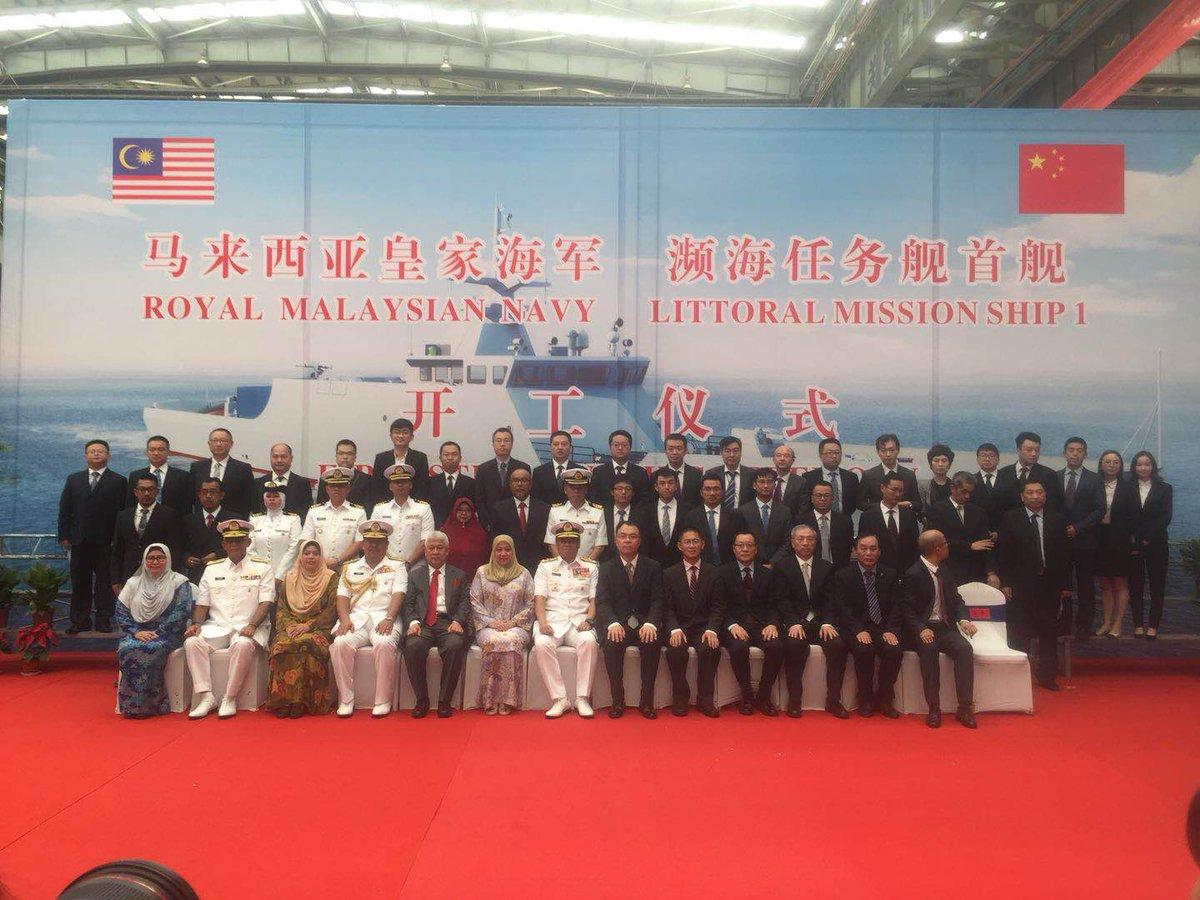中国为马来西亚建造超级战舰,一口气4艘美国悔恨不已?