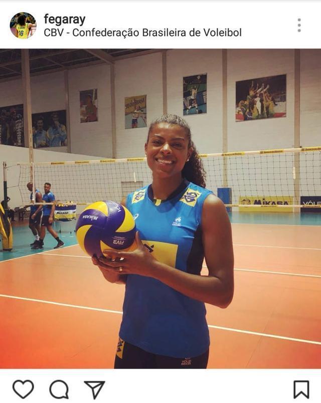 没等来法比亚娜却等来了费加雷!巴西女排又一重炮回归国家队
