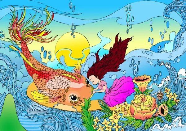 """""""童画海洋""""大赛优秀作品展开展!图片"""