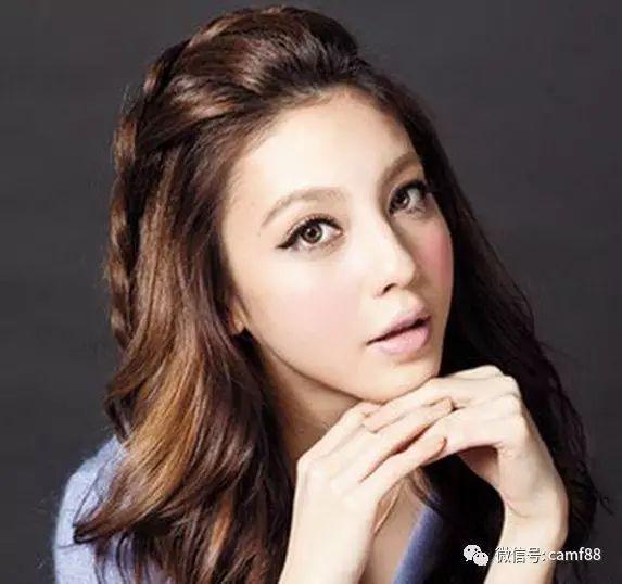简单甜美的无刘海编发图解,助你摇身一变小美人儿!