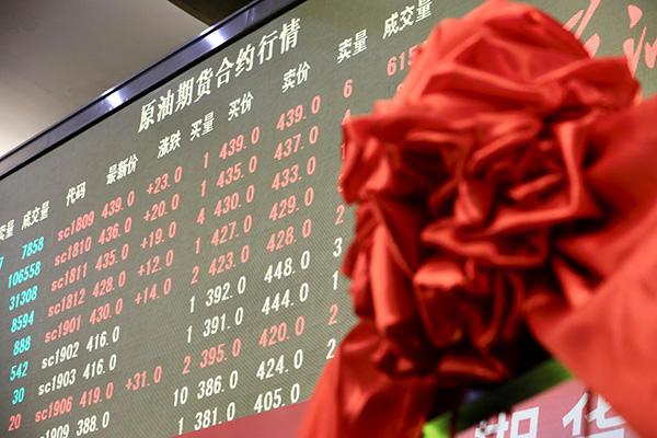 """""""中国版""""原油期货诞生记:十七年磨一剑,首_黄金价格走势图"""