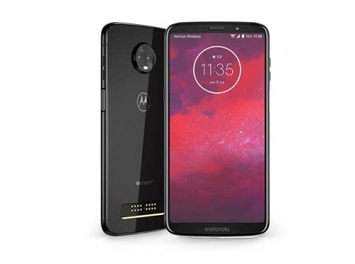 秒变5G手机 摩托罗拉Moto Z3手机产品发布图片