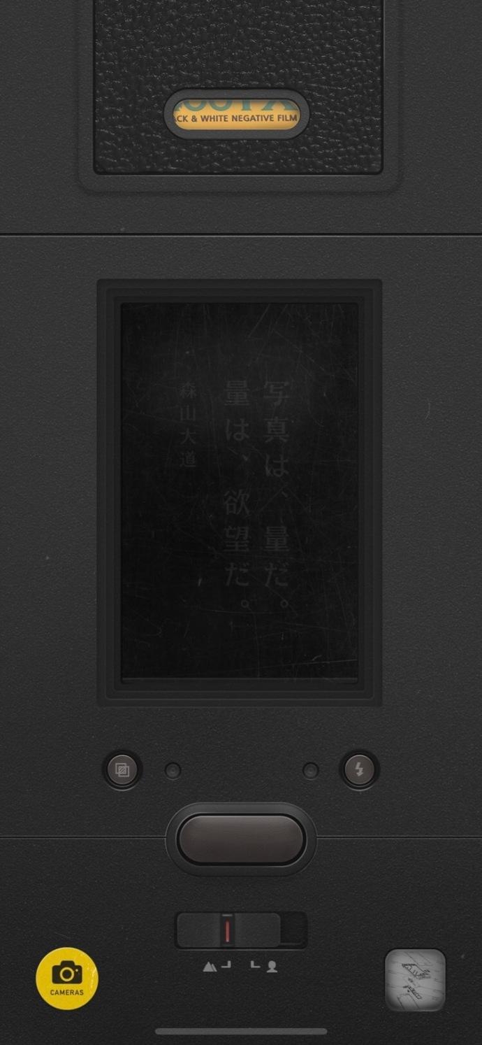 理光相机怎么样复古相机应用 NOMO 的首款黑白滤镜致敬了经典的理