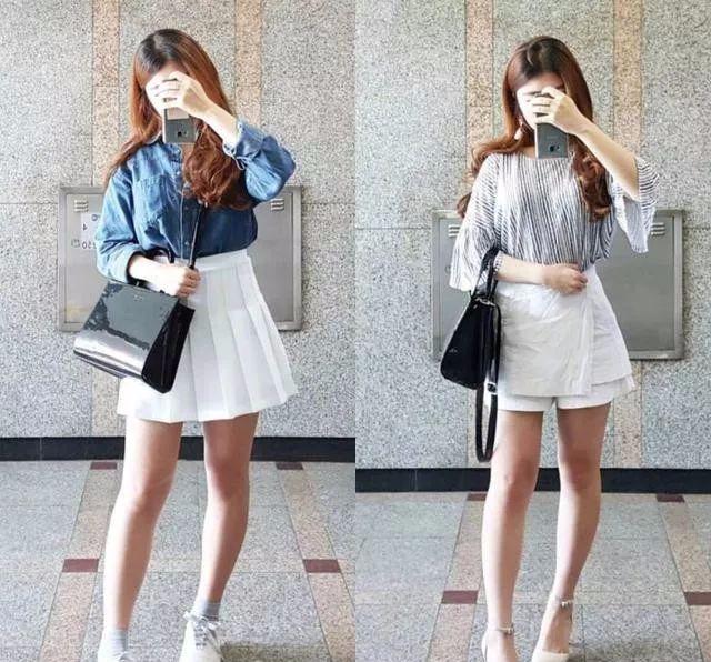 微胖女生夏季服装搭配图片,这次真的是微胖!