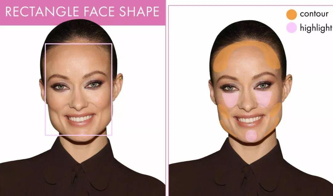 四方脸高光画法步骤图解