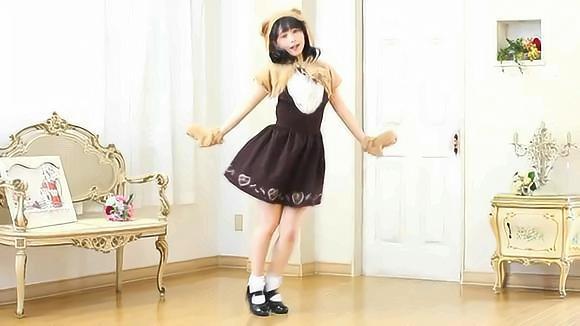 日本可爱风小姐姐,高能舞蹈!硬伤太明显了!
