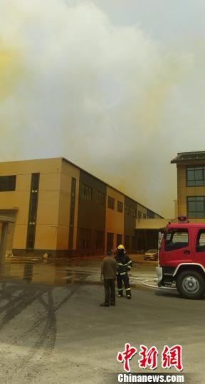 事故现场 消防供图