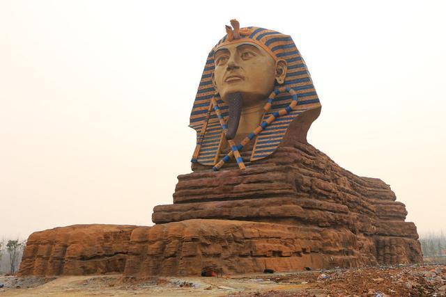 埃及再现狮身人面像,未解之谜又多了一堆