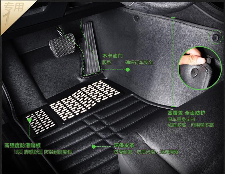 汽车用品选购指南:脚垫选不好,可能会有生命危险。