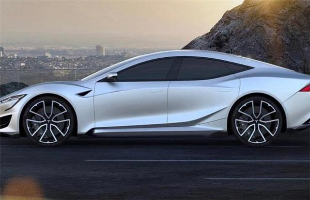 2019款特斯拉Model S假想图曝光,外观变化较大