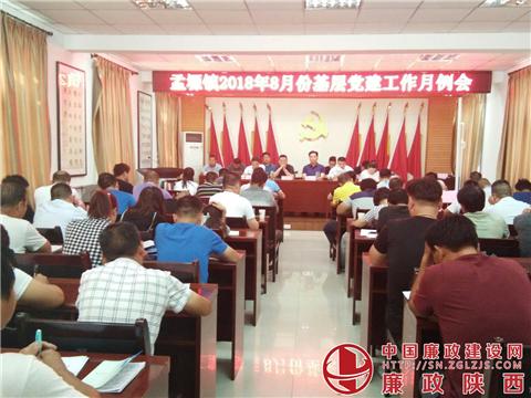 华阴市孟塬镇召开2018年8基层月份党建工作月鲁科版化学初中图片