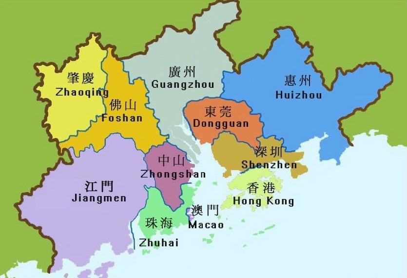 2017粤港澳经济总量_粤港澳大湾区图片
