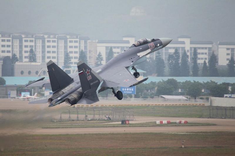 俄官员:中国军方满意苏35性能,争取飞机年底珠海公开亮相