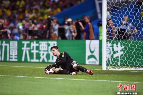库尔图瓦在今夏世界杯上表现优异 中新社记者 田博川 摄