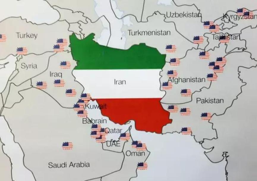 """伊朗这次危险了 美国组建""""八国联军""""意欲何为?"""